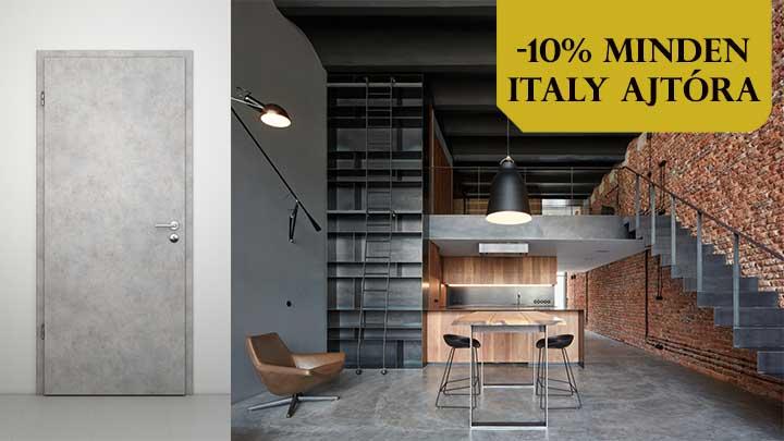 Italy belteri - adventi ajto akcio